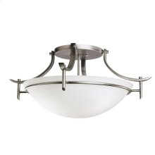 Olympia Collection Olympia 3 Light Semi Flush Ceiling Light - AP