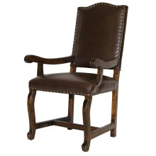Las Piedras upholstered arm chair