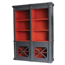 Gosford Bookcase with Display