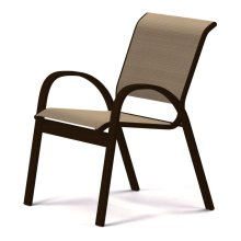 Aruba Sling Stacking Cafe Chair