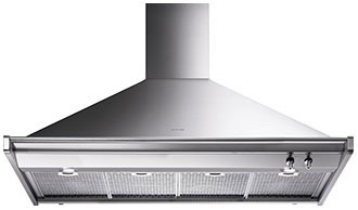 "Smeg120 Cm (Approx. 48""), Ventilation Hood, Stainless Steel"