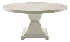 Criteria Round Dining Table in Criteria Heather Gray (363)