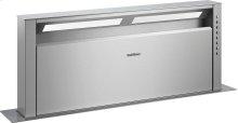 "400 series Retractable downdraft ventilation Stainless steel Width 36"" (90 cm)"