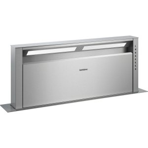 "Gaggenau400 series Retractable downdraft ventilation Stainless steel Width 36"" (90 cm)"