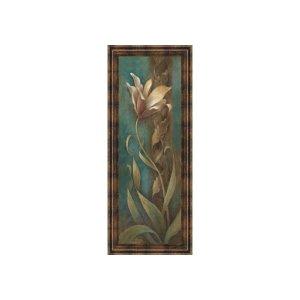 Turquiose Floral I