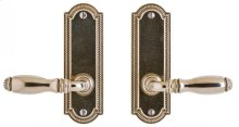 "Ellis Screen Door Hardware - 2"" x 6"" Silicon Bronze Brushed"