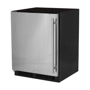 Marvel24-In Low Profile Built-In All Refrigerator With Maxstore Bin with Door Style - Stainless Steel, Door Swing - Left