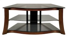 Audio/Video Furniture With Hand-painted Dark Cherry Finish