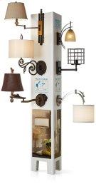 Wall Lamp Merchandising Display Product Image