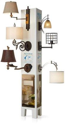 Wall Lamp Merchandising Display