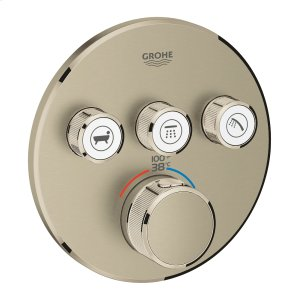 Grohtherm Smartcontrol Triple Function Thermostatic Trim With Control Module