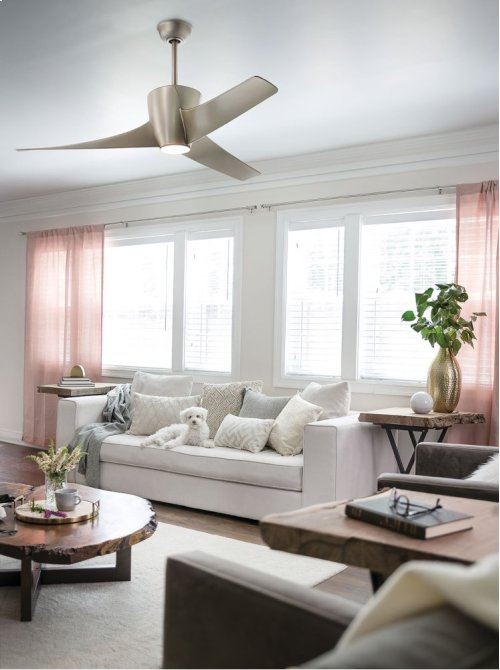Phree Collection 56 Inch Phree Ceiling Fan WHT