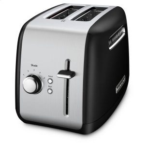 Kitchenaid2-Slice Toaster with manual lift lever - Onyx Black