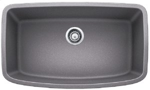 Blanco Valea® Super Single Bowl - Metallic Gray