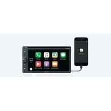 "6.4"" (16.3 cm) DVD receiver with BLUETOOTH®"