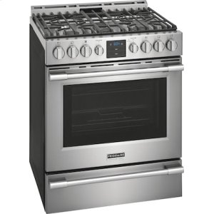 Frigidaire ProPROFESSIONAL Professional 30'' Front Control Gas Range with Air Fry