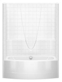 2603BSTCM - AFR Tub-Shower