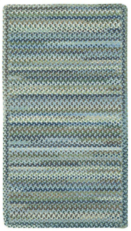 Homecoming Sky Blue Braided Rugs (Custom)