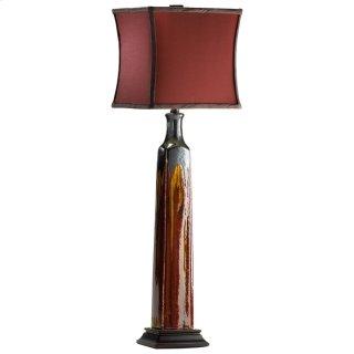 Golden Buffet Lamp