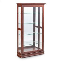 Large Sliding Door Curio Product Image