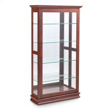 Large Sliding Door Curio