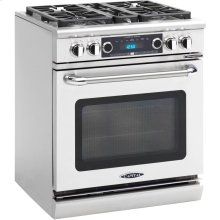 "30"" Range w/ 4 Sealed Burners @ 19K BTU's / hr Dual Fuel Self Clean"