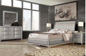 "Midtown King Bed Headboard 83""x13""x55"""