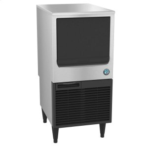 HoshizakiKM-80BAJ, Crescent Cuber Icemaker, Air-cooled, Built in Storage Bin