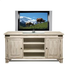 Regan TV Console Farmhouse White finish