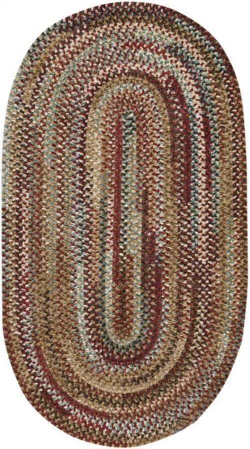 New Homestead Sundried Red Braided Rugs (Custom)