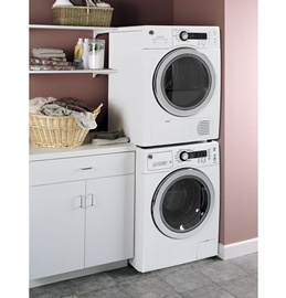 WCVH4800KWW GE GE® 2 2 cu  ft  Front Load Washer WHITE - Hahn