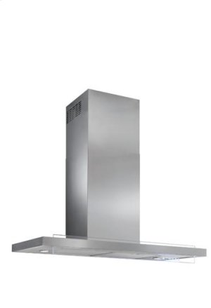 "Harmonia - 35-7/16"" Stainless Steel Chimney Range Hood with iQ6 Blower System, 600 CFM"