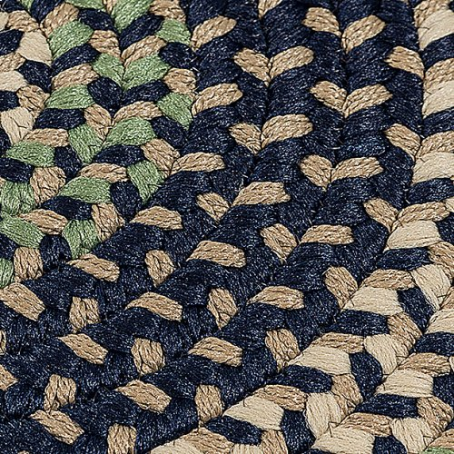Brook Farm Rug BF53 Bluestone 2' X 6'
