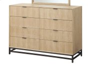 Aden - 8 Drawer Dresser W/metal Base Product Image