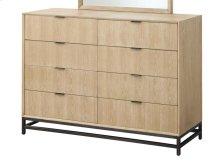 Aden - 8 Drawer Dresser W/metal Base