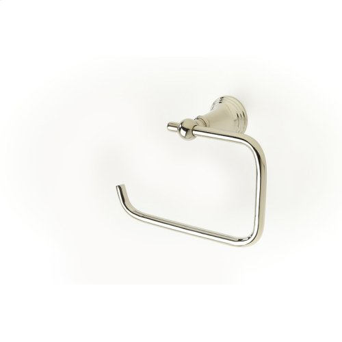 Paper holder / Towel Ring Berea (series 11) Polished Nickel