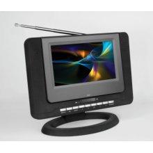 "7"" Digital Portable LCD TV/DVD Combo"