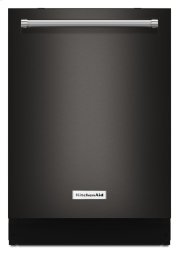 44 dBA Dishwasher with Dynamic Wash Arms and Bottle Wash - Black Stainless Product Image