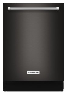 44 dBA Dishwasher with Dynamic Wash Arms and Bottle Wash - Stainless Steel