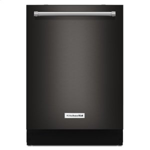 Kitchenaid Black44 dBA Dishwasher with Dynamic Wash Arms and Bottle Wash - Black Stainless