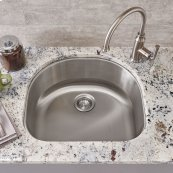 Portsmouth Undermount 23x21 Single Bowl Kitchen Sink  American Standard - Stainless Steel