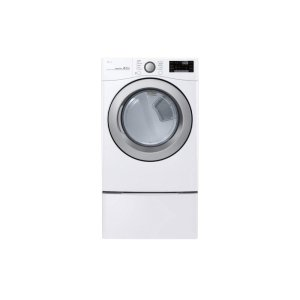 LG 鸭博娱乐s7.4 cu. ft. Ultra Large Capacity Smart wi-fi Enabled Gas Dryer