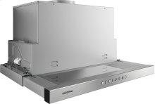 Flat Kitchen Hood 200 Series Stainless Steel Handle Bar Width 23 9/16'' (60 Cm)