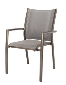 Emerald Home Talon Padded Sling Arm Dining Chair Bronze Od1311-22-2