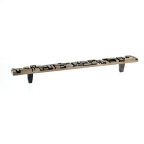 Antique Brass Offset Pull 9 Inch (c-c)