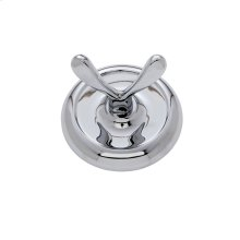 Polished Chrome Piedmont Robe Hook
