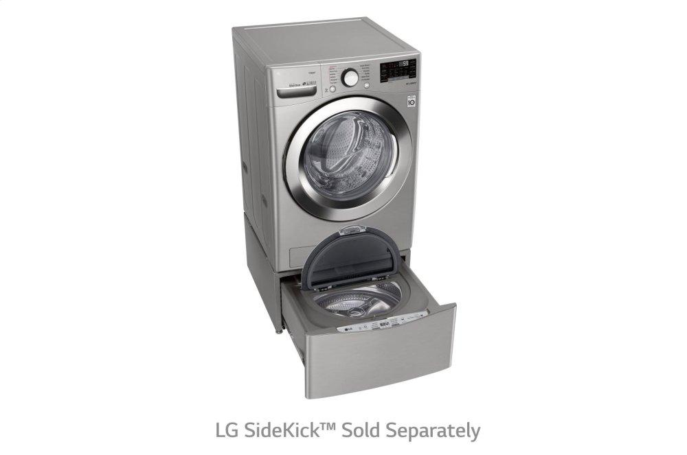 4.5 cu. ft. Ultra Large Smart wi-fi Enabled Front Load Washer GRAPHITE STEEL