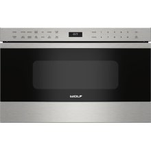 """24"""" Transitional Drawer Microwave***FLOOR MODEL CLOSEOUT PRICING***"""