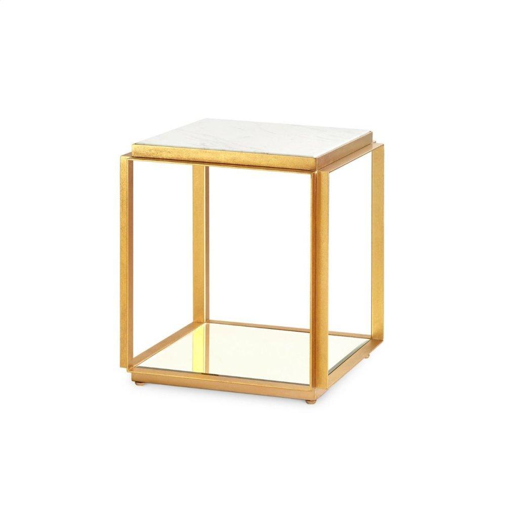 Abbott Side Table, White