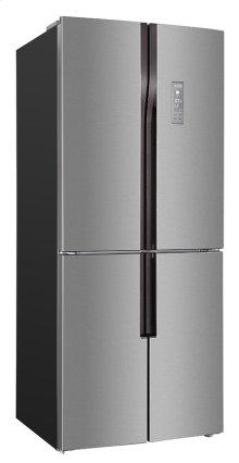 15.3 Cu. Ft. French 4 Door Frost Free Refrigerator / Bottom Mount Freezer
